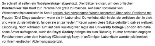 Screenshot Infokasten, Quelle: DIE ZEIT Nº 25/2015, 19.6.2015