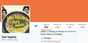 hot topics auf Twitter