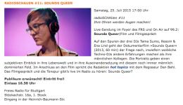 Radioschau Sounds Queer